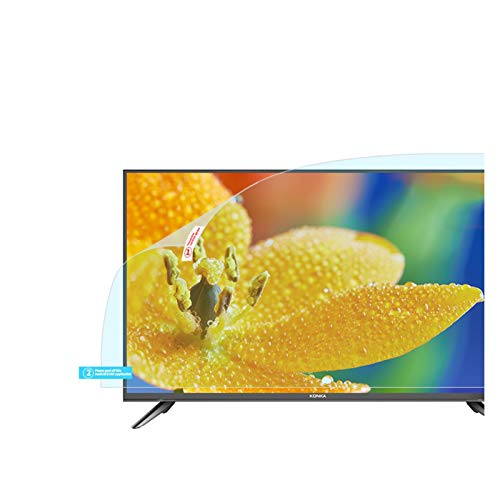 GFSD Protector de Pantalla para TV, Anti Luz Azul/Anti Deslumbramiento/Anti-Rayado Dureza Pet 4H Fácil de Montar, Amplia Personalización (Color : Matte Version, Size : 40 Inch 875 * 483mm)