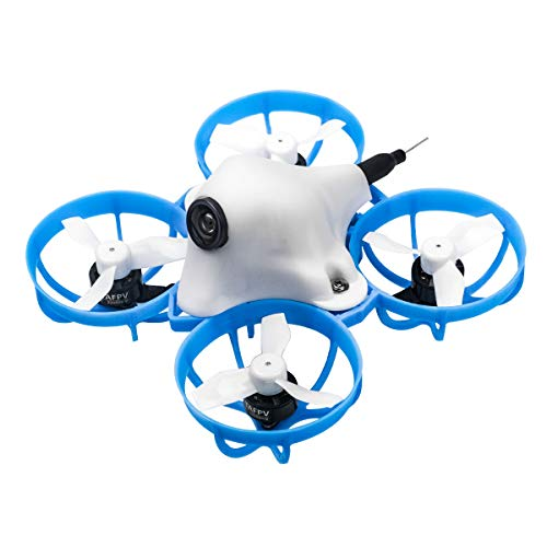 BETAFPV Meteor65 Frsky LBT 1S Brushless Whoop Drone with BT2.0 Connector F4 1S Brushless FC 22000KV 0802 Motor for Micro Tiny Whoop FPV Racing Whoop Drone Quadcopter