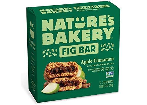 Nature's Bakery Apple Cinnamon Real Fruit, Whole Grain Fig Bar - 6 ct. (12 oz.)