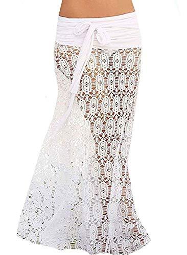 Preisvergleich Produktbild JFan Frauen Badeanzug Vertuschen Summer Beach Wickelrock Langes Kleid