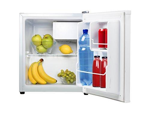 Tristar KB-7352 Refrigerador, Acero Inoxidable, Blanco, 45.8x45.8x54 cm