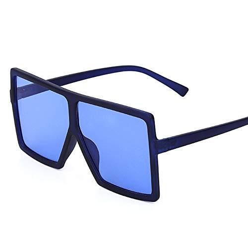 ShZyywrl Gafas De Sol De Moda Unisex Gafas De Sol Cuadradas De Gran Tamaño Vintage para Mujer, Retro, para Hombre, Gafas De Sol, Gafas De Sol, Gafas Uv400 2