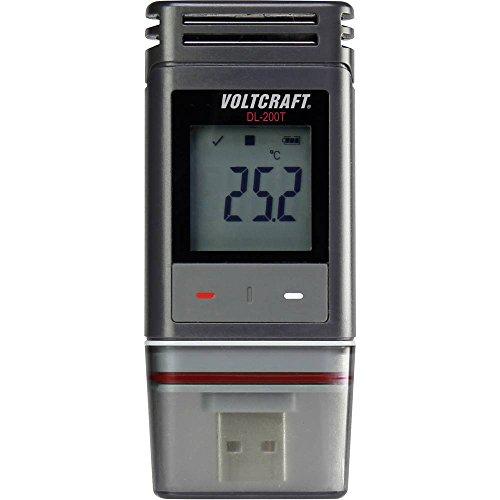 VOLTCRAFT DL-200T Temperatur-Datenlogger Messgröße Temperatur -30 bis +60 °C PDF Funktion