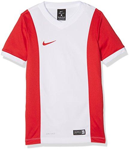 Nike Maillot à Manches Courtes garçon Park Derby M Blanc/Rouge