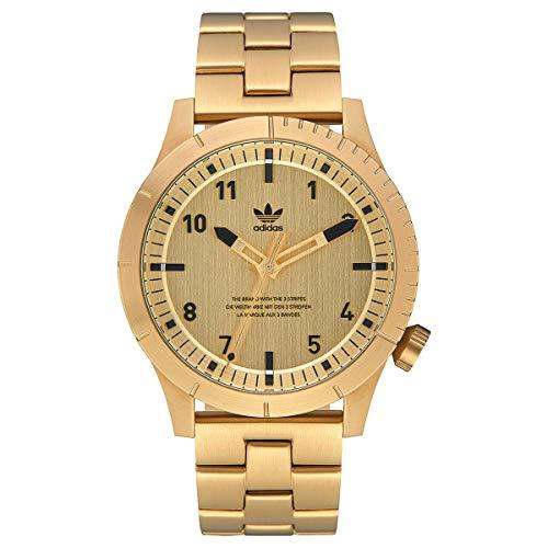 Adidas Herren Analog Quarz Smart Watch Armbanduhr mit Edelstahl Armband Z03-510-00