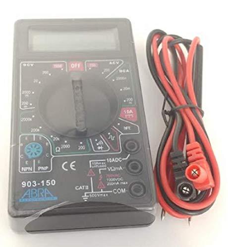 Eclipse Pro's Kit 903-150 Black Low Cost 3.5 Digit Multimeter