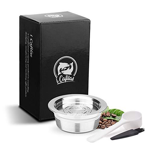 Bedler Capsule per caffè riutilizzabili in Acciaio Inossidabile Filtro per Tazze di caffè Riutilizzabile Compatibile con LAVAZZA A Modo Mio Jolie LAVAZZA A Modo Mio ESPRIA Capsule caffè in Acciaio in