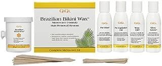 GiGi Brazilian Waxing Microwave Formula Kit - No Strips Needed