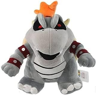 5Star-TD Super Mario bros Bowser Koopa Dry Bone Grey 10' Plush Doll Toy Rare!
