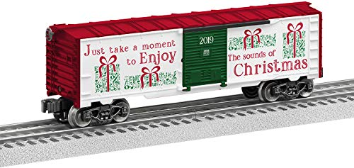 Lionel Christmas Music, Electric O Gauge Model Train Cars, Boxcar #19