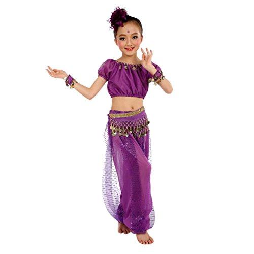Longra kostuum, handgemaakt, voor kinderen, meisjes, buikpak, Egyptische dans, kleding