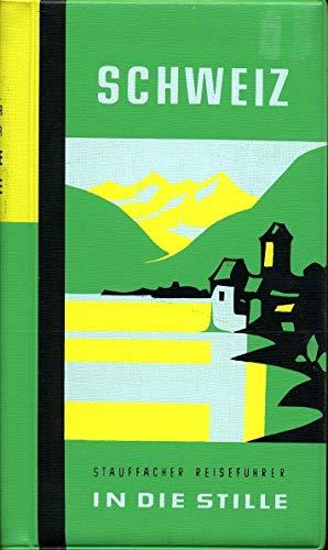 Schweiz. Illustriertes Touristen-Handbuch für Reisen in die Stille. Mit 2 Übersichtskarten, 42 Routenplänen und 12 ganzseitigen Abbildungen auf Kunstdruckpapier.