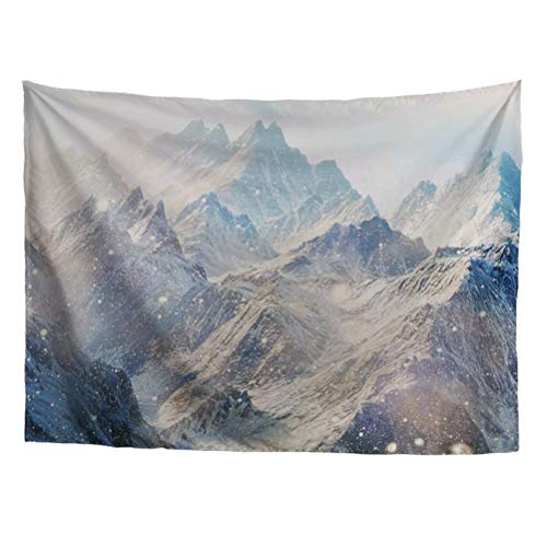 Sannovo Mountain Pattern Home Decor Collection Tapestry Landscape Art Wall Hanging Bedroom Living Room Dorm Tapestrie L