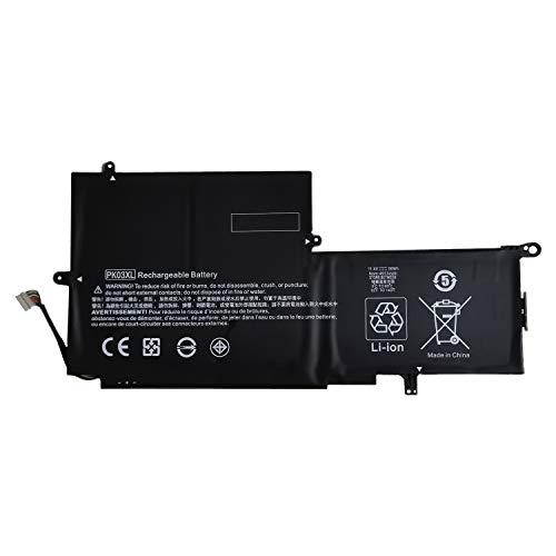 7XINbox 11.4V 56Wh PK03XL Li-Ion Laptop Akku für HP Spectre 13 Pro x360 G1 G2 788237-2C1 789116-005 HSTNN-DB6S TPN-Q157