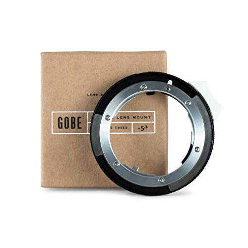 Gobe - Adaptador de Lente Compatible para Lentes Nikon F (G-Type) y cuerpos de cámara Canon EOS (EF/EF-S)