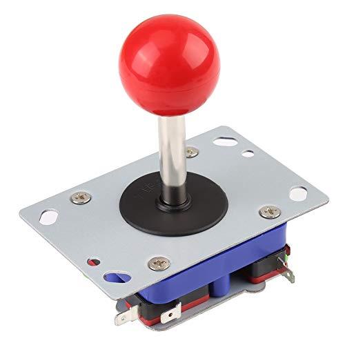Joystick Ball de jogo, 1 peça de joystick de 2/4/8 vias, dispositivo de controle clássico de jogo com joystick Ball para jogos de fliperama