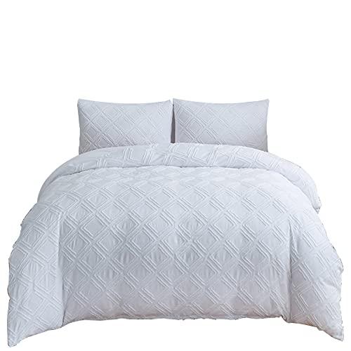 VegaHero Sängkläderna är ett enkelt och vanligt påslakan, ett tredelat överdrag av polyesterfiber, ett påslakan och två örngott (04,220 x 240 cm 50 x 75 cm x 2)