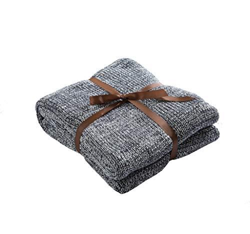 LYQZ Weich Europa und Amerika Baumwolle Stricken Decke Sofa Decke Decken (Size : 120 * 180CM)
