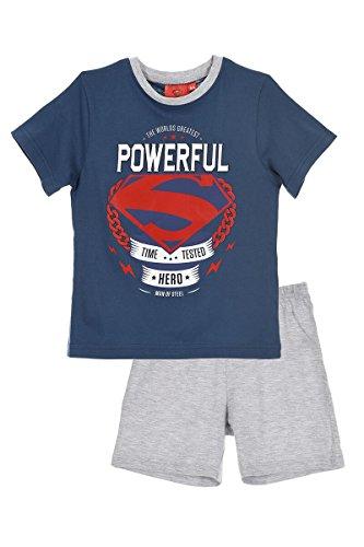SUPERMAN PAJAMA GREY 3 a�os