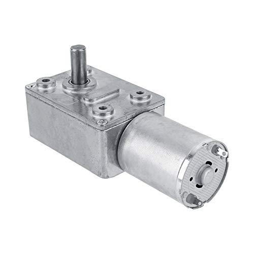 Motor de engranaje helicoidal reversible, motor de engranaje helicoidal turbocompresor de motorreductor de 12 V CC, reversible para el hogar