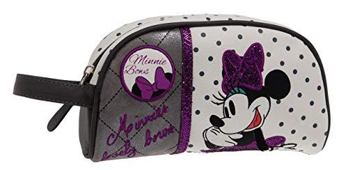 Disney Minnie Bows Trousse Blanc 21,5x12x5,5 cms Cuir synthétique