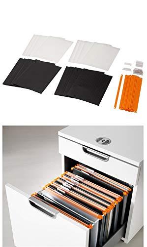IKEA SUMMERA A4 Drop File set of 16 Fits any A4 Filing...