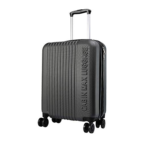 Cabin Max Velocity Expandable Carry On Suitcase Suitable Carry On Luggage for Most Airlines(Graphite)
