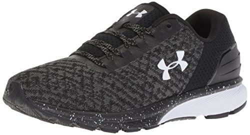 Under Armour Women's Charged Escape 2 Running Shoe, Black (002)/White, 5.5