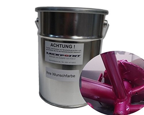 Lackpoint 1 Liter Spritzfertig Wasserbasislack Candy Lila Metallic Autolack