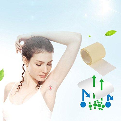 ETbotu Geschenken voor vrouwen - 6 M/1 Roll Unisex Armpit Sweat Pads Dunne Ademende Perspiratie Pads Transparante Deodorant Antitranspirant