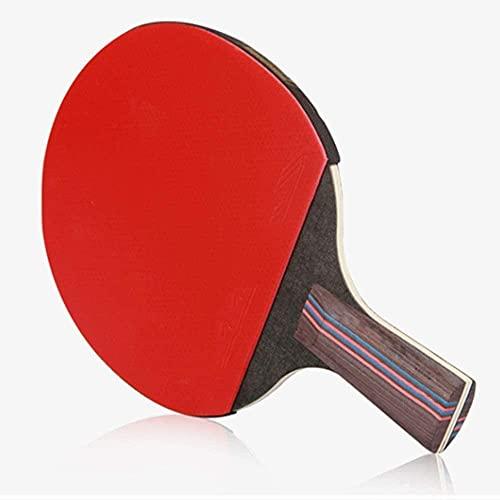 Table Tennis Pala de Ping Pong Mayo DE PENISIS DE Mesa con TECNOLOGÍA DE Fibra DE Carbono para EL Mayor Control, SPIN & Power Rendimiento DE Potencia Ping Ping Pong Bat con Protector Premi