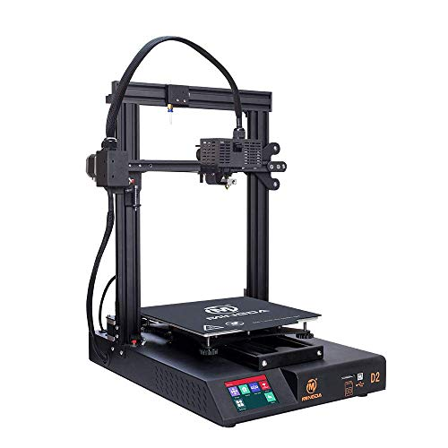 FDM 3D Printer, MINGDA D2 DIY 3D Printer Kit with Dual Z, TMC2208 Silent Print, Filament Detector, Removable Build Plate, Resume Printing, Economical Printer for Beginners, Touch Screen 230x230x260mm