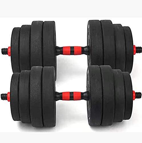 Halter Oefening Fitness Set Verstelbare Halter Gewicht Barbell Connector voor thuis Bodybuilding Training Arm Spier Gym Gewichten 20KG 25KG,15kg