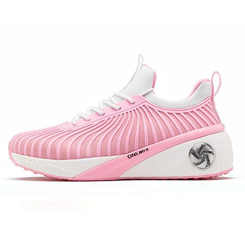 Zapatillas de Deporte de Malla Transpirables cómodas para Primavera, Zapatos Casuales con Cordones, Zapatos Deportivos clásicos Antideslizantes con Estilo, Zapatillas de Deporte