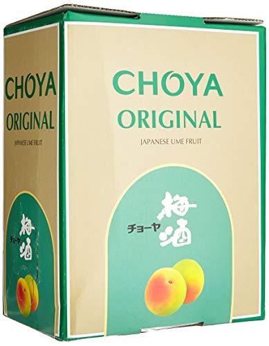 Choya Original japanischer Pflaumenwein (Weinhaltiges Getränk, Ume Frucht, fruchtig, süß, 10% vol.) 1er Pack, Bag in Box (1 x 5 l)