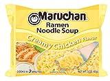 Maruchan Ramen Noodle Soup, Creamy Chicken Flavor (3 oz), 12 count
