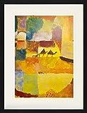 1art1 Paul Klee - Zwei Kamele Und EIN Esel, 1919 Gerahmtes