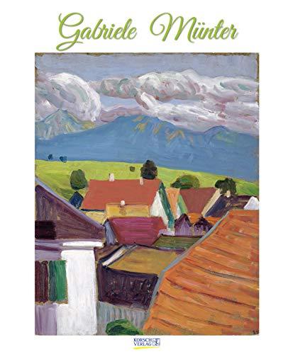Gabriele Münter 2021: Kunstkalender mit Werken der Künstlerin Gabriele Münter. Großer Wandkalender mit Bildern aus dem Expressionismus. Format: 45,5 x 55 cm