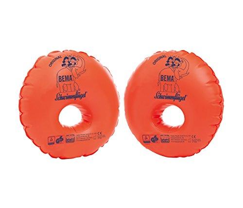 Bema Original Schwimmflügel mit Schaumstoffkern, orange, für Kinder von 3-6 Jahren (1x Duo Protect)