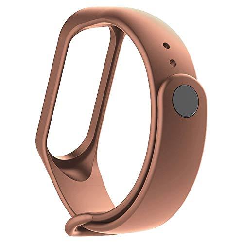 N / E Moda Para Xiaomi Mi Band 3/4 Reemplazo Deporte Correa de Silicona Pulsera Pulsera de Dos Tonos de Reemplazo
