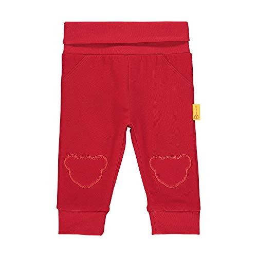Steiff Mädchen Jogginghose, Rot (Tango Red 4008), 86 (Herstellergröße: 086)