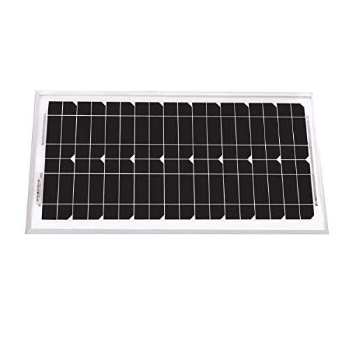 Panneau solaire unisun 20w - 24v monocristallin