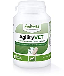 JOINT AID FOR DOGS: AniForte's AgilityVet Joint Aid Tablets is a joint care supplement for dogs specially formulated to provide effective and natural support for your pet's joints. Essential nutrients can support the metabolism in joints, tendons and...