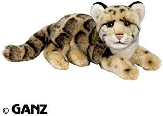 Webkinz Endangered Signature Clouded Leopard with Trading Cards