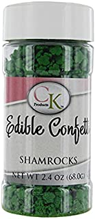 Shamrock Sprinkles 2.4 Ounces by CK