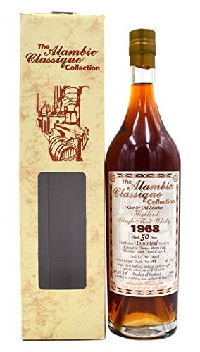 Rarität: Tomintoul Whisky Jahrgang 1968-50 Jahre alt 0,7l Alambic Classique