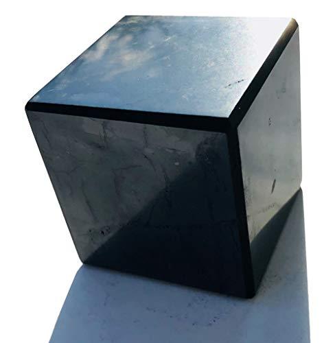 Schungit Würfel 3X 3cm poliert Heilstein russischer Schungit Schungitpyramide Edelsteinpyramide Schungite