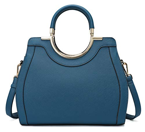 LJOSEIND Women's Handbags Designer Purses Satchel Totes Structured Shoulder Bags