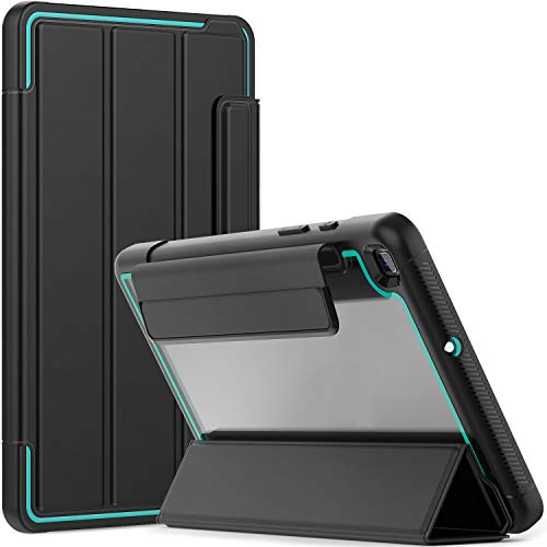 Timecity Case Compatible with Samsung Galaxy Tab A 8.0' 2019 (Fit for SM-T290/T295/T297), with Screen Protector Magnetic Tri-fold Stand, Lightweigt Case for Galaxy Tab A 8.0 inch 2019, Light Blue