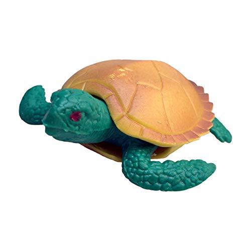 Rep Pals - Tartaruga, Giocattolo Elastico di Deluxebase. Animaletti di Gomma Super Elastici Che sembrano Veri, Perfetti per i Bambini